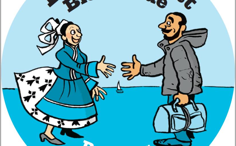 Degemer mat, bienvenue, refugeeswelcome